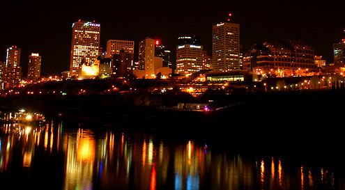 FLICKR: Trae Stone - Reflections on the City at Night