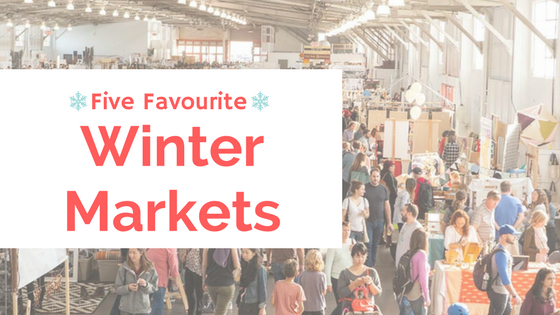 Top Five Winter Markets in Edmonton!