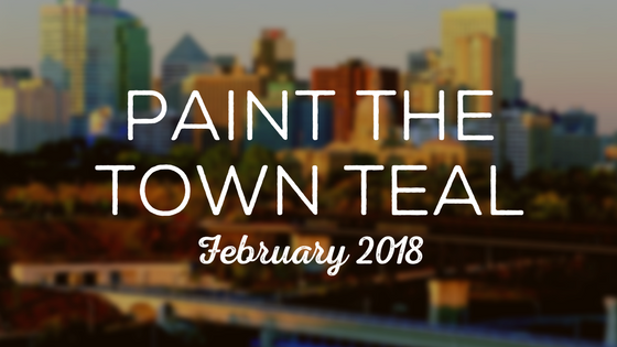 Paint The Town Teal – February 2018