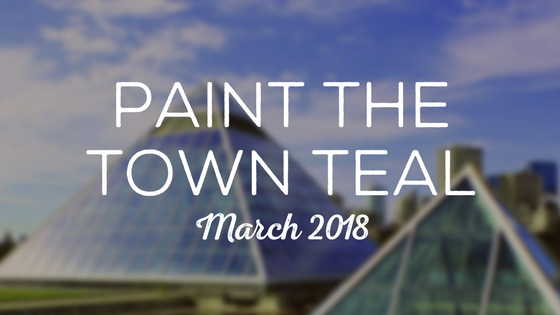 Paint The Town Teal – March 2018