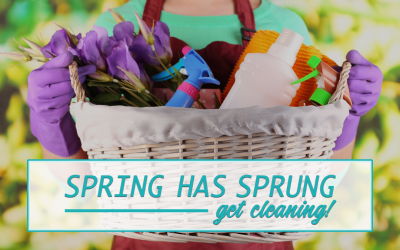 Spring Has Sprung: Get Cleaning!