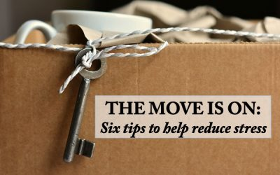 The Move is On: Six Tips to Help Reduce Stress