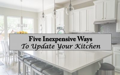 Five Inexpensive Ways to Update Your Kitchen