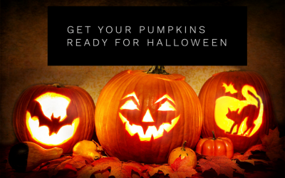 Get Your Pumpkins Ready For Halloween